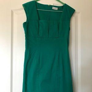 Marvin Richards green dress, like Calvin Klein